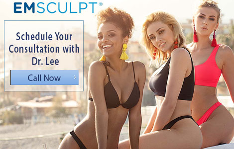 Schedule Your Emsculpt Consultation with Dr. Lee