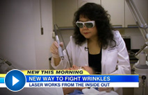 Dr Lee featured on Good Morning American on Tuesday November 25
