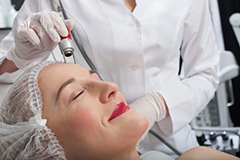 Laser Treatments Walnut Creek - Lady is Caring of Skin