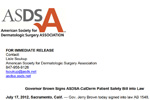 SDSA-CalDerm Patient Safety Bill