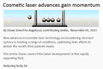 Cosmetic laser advances gain momentum