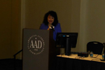 Laser talk at AAD annual meeting 4
