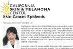 Skin Cancer Epidemic Article