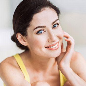 CO2 laser treatment for sagging skin